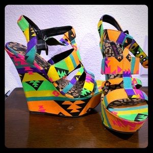 Colorful soda wedges